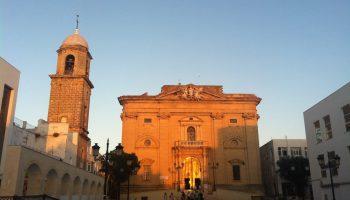 Iglesia Mayor. Parroquia de San Juan Bautista. Desde la Plaza Mayor