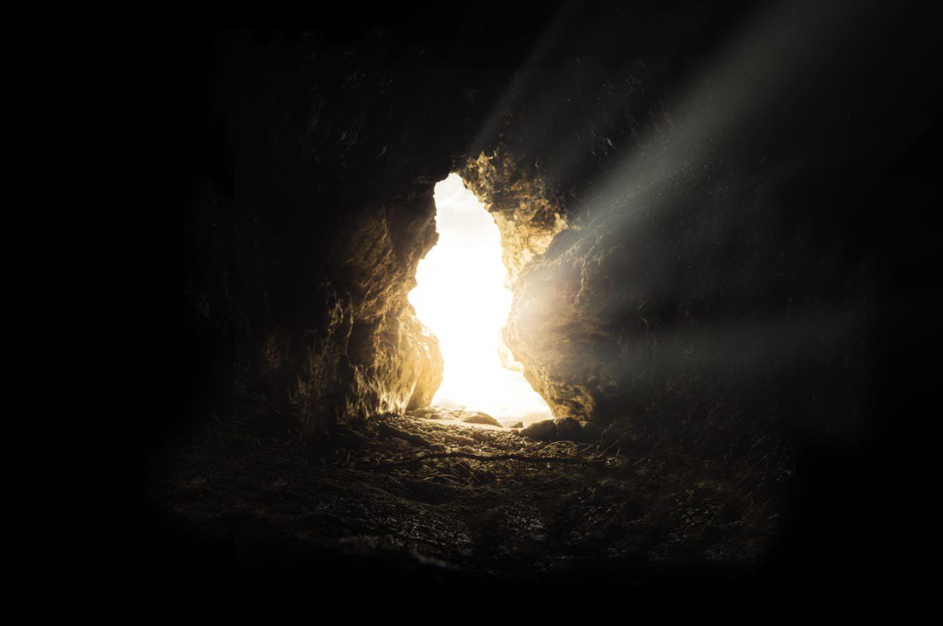 Luz en la cueva