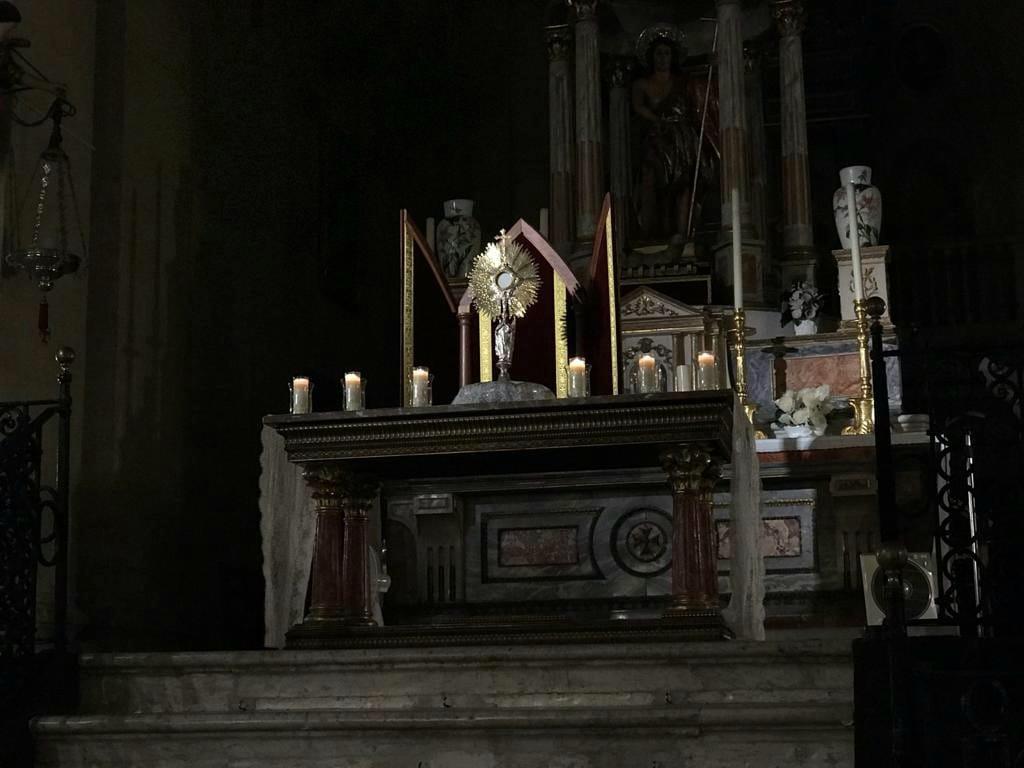 Hora Santa. Iglesia Mayor. Chiclana
