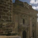 Iglesia Mayor desde el Arquillo del Reloj. Chiclana. María Benitez