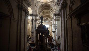 Nave Central de la Iglesia Mayor. Chiclana. María Benitez