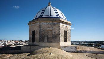 Cúpula de la Iglesia Mayor. María Benitez