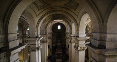 Nave central de la Iglesia Mayor. María Benitez
