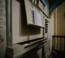 Órgano de la Iglesia Mayor. Chiclana. María Benitez