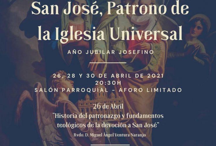 Ciclo de conferencias «San José, Patrono de la Iglesia Universal»